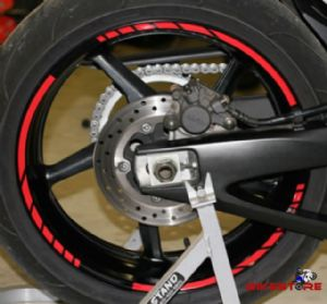 MotoGP style Reflective Rim Stripes