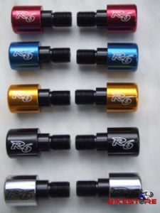 Yamaha R6 logo bar ends